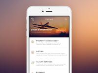 TYCHE - Concierge mobile app