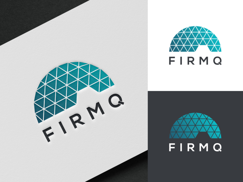 FirmQ logo logo illustrator illustration design