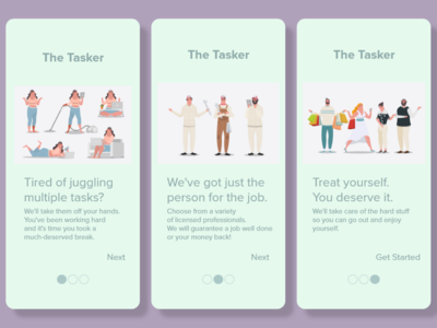 Daily UI #023 - Onboarding