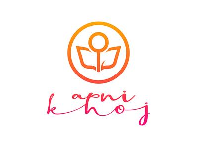Logo Design for Apni Khoj probono ngo logo design logo