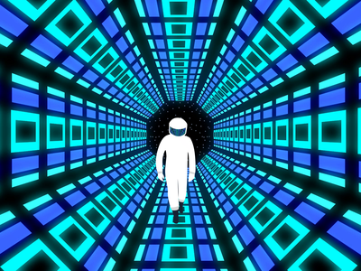 Infinite Tunnel Loop space art after effects science fiction scifi rotating tunnel infinite space tunnel spaceman outer space infinite looping tunnel space tunnel 2001 a space odyssey animation astronaut infinite tunnel retro space station space a space odyssey