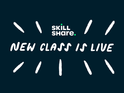 My Skillshare Class is Live online course online class photoshop doodles learn learning skillshare class animation class how to tutorial skillshare illustration traditional animation 2d animation hand drawn handdrawn drawing character illustration character character animation
