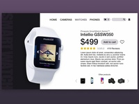 Daily UI #012 - E-Commerce Item