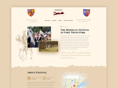 Medieval Festival website