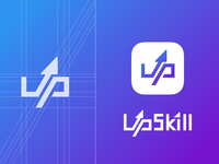 the second logo design for UpSkill