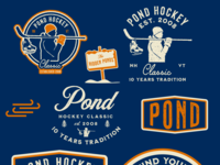 Pond Hockey Classic - initial mocks