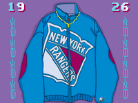 Starter x New York Rangers