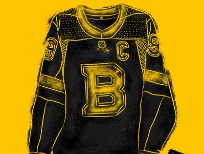 Boston Bruins Alternate Jersey apparel bruins boston boston bruins sports design adidas sportswear sportsdesign hockey hand retro illustration drawn vintage sports grunge athletics typography design