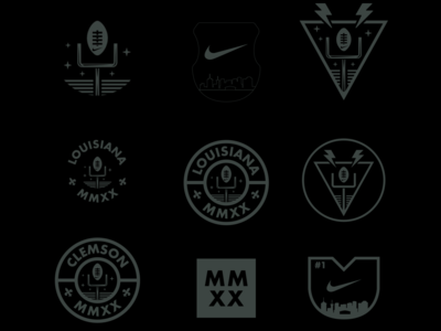 Nike x CFP unused badges
