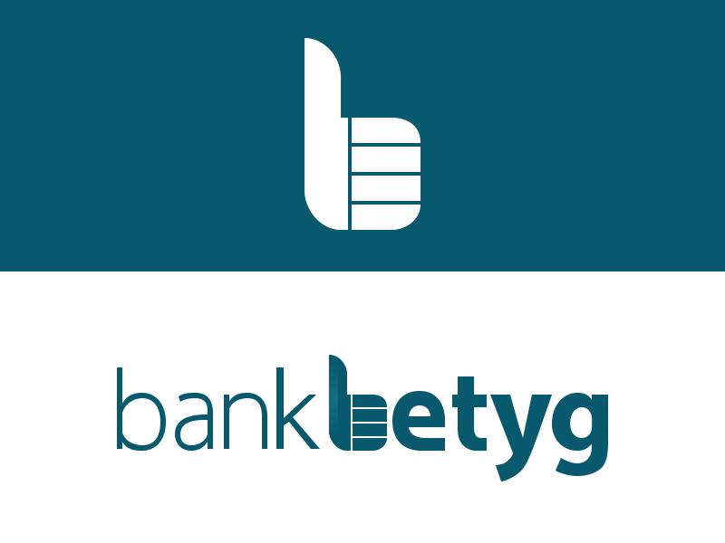 Dribble Bankbetyg bankbetyg bank betyg startup sweden flat logo