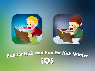 Dribbble Fun For Kids ios fun for kids icon children game apple