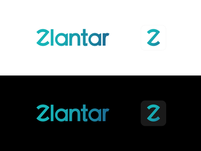 Zlantar - Logotype logo vector illustration logodesign zlantar