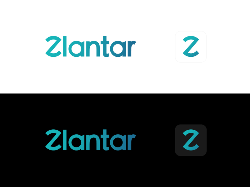 Zlantar - Logotype logo vector illustration logodesign zlantar