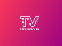 Teknikveckan logotype logo sweden techblog teknikveckan