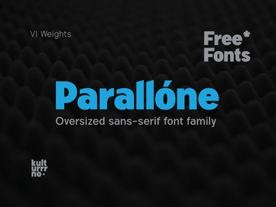 Parallone | Free fonts free font freebie design typography typeface letters type vector font