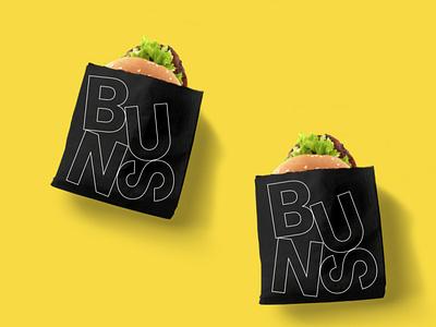 Fresh Stack Burger Wrappers burgers restaurant branding package design packaging design branding graphic design