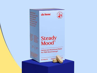 DeLune Steady Mood Packaging packaging design layout package design packaging design branding graphic design
