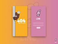 UI Design : Line friends