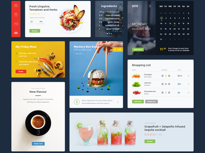 Food And Drinks Ui