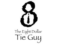 The $8 Tie Guy Logo