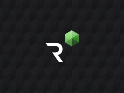 Results ID identity sketch logo green modern simple pattern