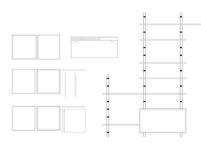 A build furniture build design sketch modules