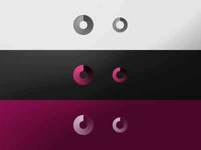 Loading loading icon options dark light color