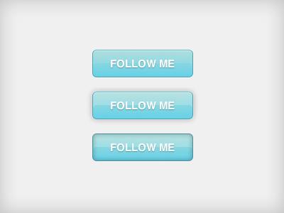 Blue CSS3 Button buttons dabblet follow blue css3 transition animation button