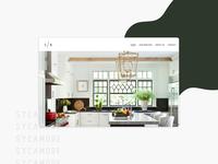 Sycamore modern website design web design website web branding design brand design brand squarespace minimal design ui