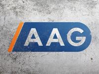 A A G construction company logo