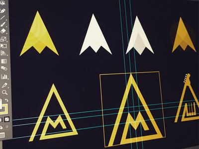 Logo Exploration - Letter A & M