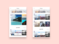 Exploring Photos App UI