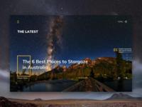 Natgeo Website Layout