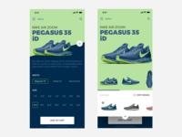ieShoe Nike - Mobile App