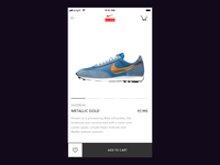 Ecommerce Add to Cart Interaction