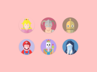 Avatars of game features
