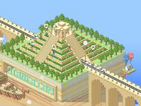 Isometric Pyramid for Qianka.com