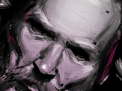 Small illustration art artwork sketch sketching draw drawing graphic portrait texture digital painting