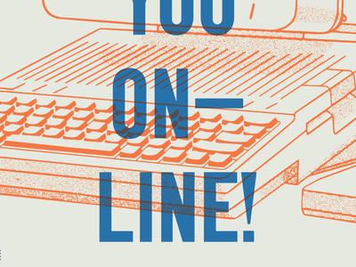 Pandemic Poster type illustration printmaking social distancing online pandemic covid print poster