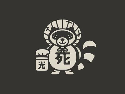 狸 japanese japan good fortune good luck raccoon dog tanooki tanuki