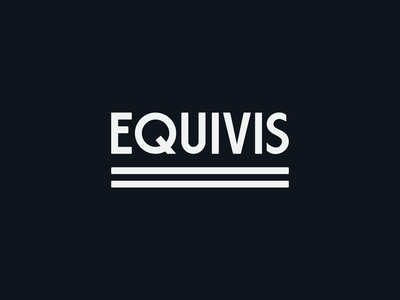 = wordmark equality equal equivis eq typography brand icon mark branding type logo