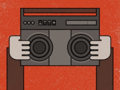 Cusack radio boom box say anything