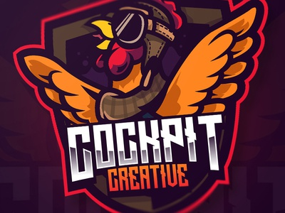 COCKPIT CREATIVE creative illustrator illustration vector gaming game esports mascot logo