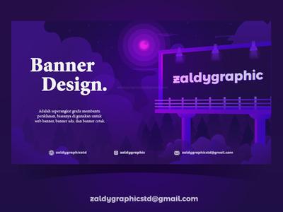 Banner Design Illustration design art illustration illustrator ads banner web design