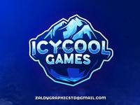Icycool games logo