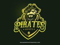 Esports Mascot Pirates Logo