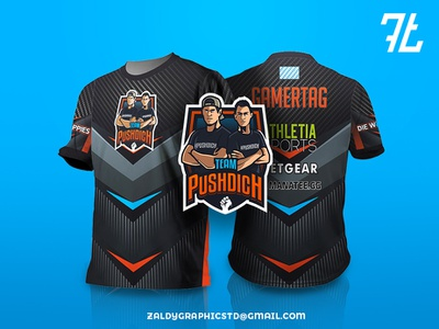 Logo with jersey design vector team game sports jersey design logo illustrator illustration mascot gaming esports