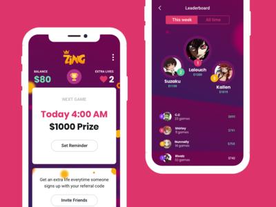 Zing - Quiz trivia app
