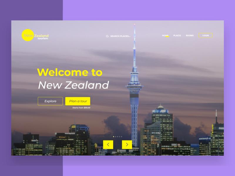 New Zealand Tourism ui ux new zealand website tourism website tourism newzealand tourism newzealand uiux design uiuxdesign uiux ui ui design design