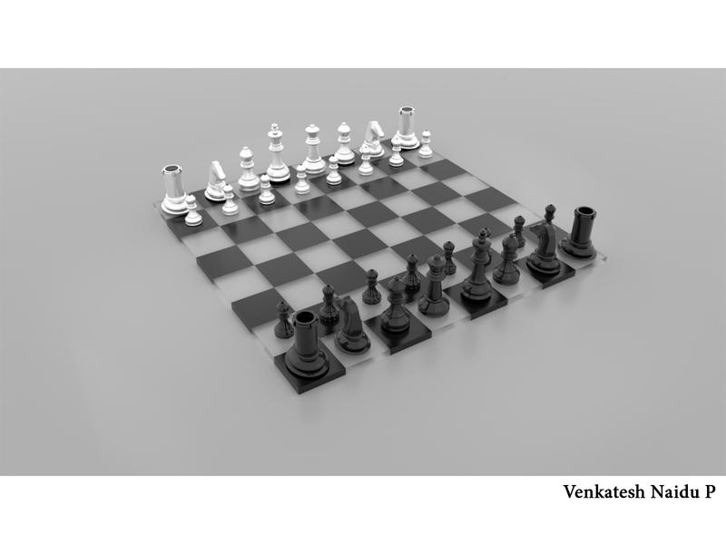 Chess Coins chess coins chessboard 3d design maya design maya 3d 3d animation chess